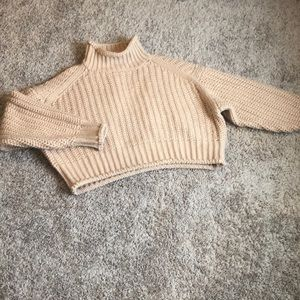 Mock neck sweater- Medium